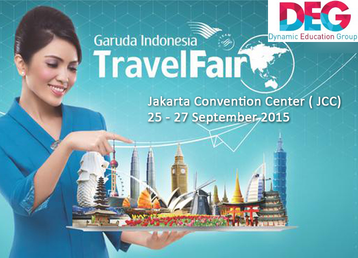 Visit us at Garuda Travel Fair 25 – 27 September 2015 and Win a Chance of Scholarship